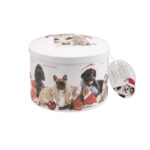 Christmas Cats & Dogs - Chocolate Flavored Fudge (Case of 12)