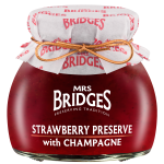 Strawberry Preserve with Champagne 4oz Jar (Case of 16)